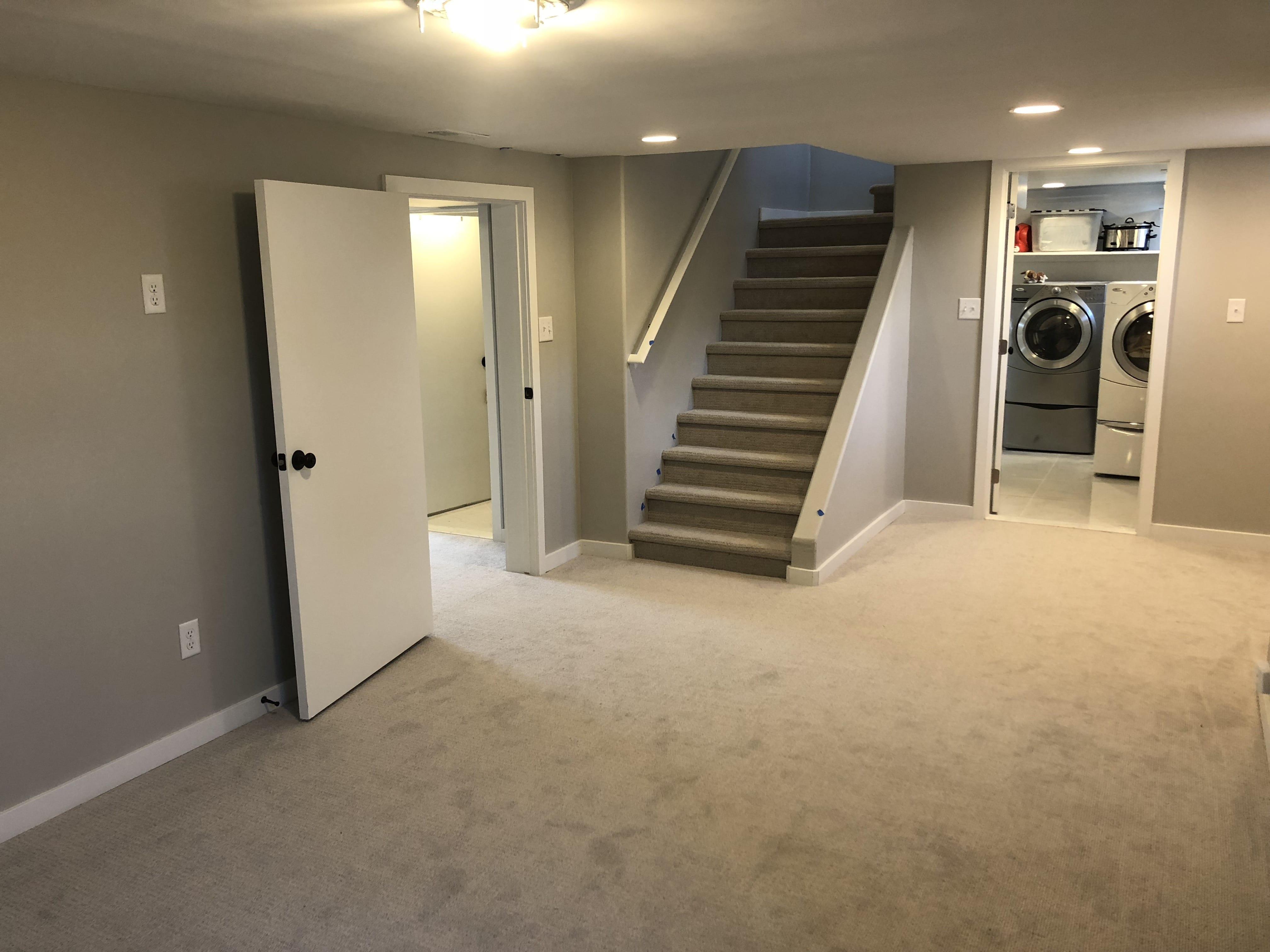 Basement Remodel Guide - Living Room Real Estate